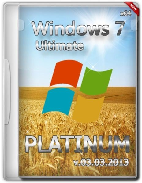 Windows 7 Ultimate x64 Platinum Pack 2013 (2013/UA)