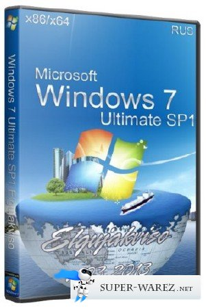 Windows 7 Ultimate SP1 x86/x64 Elgujakviso Edition 03.2013/RUS