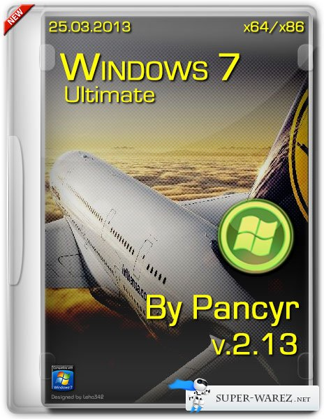 Windows 7 Ultimate SP1 x86/x64 v.2.13 By Pancyr (RUS/25.03.2013)