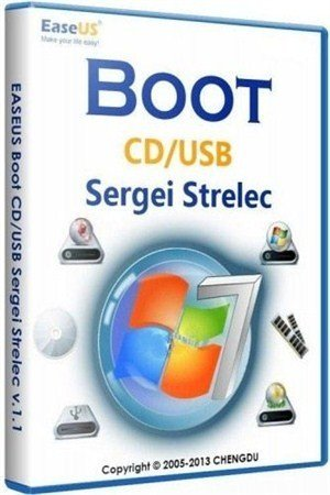 Boot CD/USB Sergei Strelec 2013 v.2.1