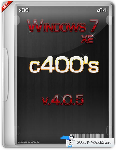 c400's Windows 7 XE 4.0.5 x86/x64 (2013/RUS/ENG)
