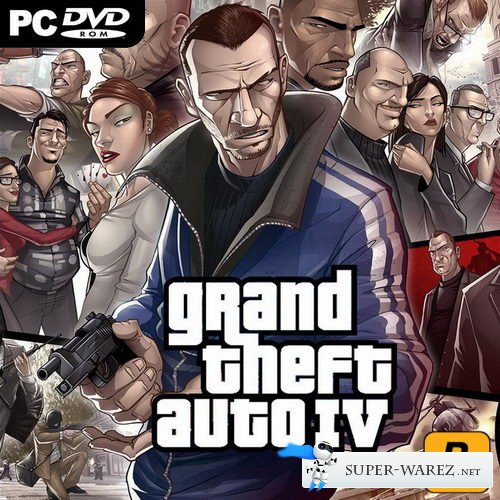 Grand Theft Auto IV: Overclockers Edition (2008-2013/RUS/ENG/MULTI6/RePack by Dax1)