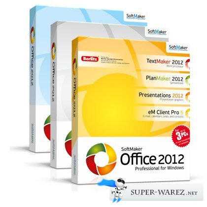 SoftMaker Office Professional 2012 (rev 679) Final RePack & Portable (2013)