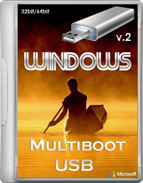 Windows Multiboot USB 2 x86 x64 24.04.2013 (ENG/RUS)