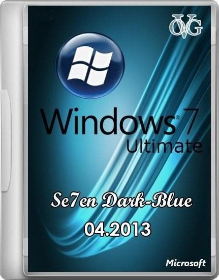 Windows 7 Ultimate SP1 7DB by OVGorskiy® 04.2013 (x86/RUS)