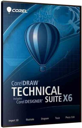 CorelDRAW Technical Suite X6 v 16.3.0.1114 Special Edition