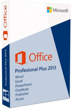 Microsoft Office 2013 Professional Plus + Visio Pro + Project Pro + SharePoint Designer 15.0.4481.1001