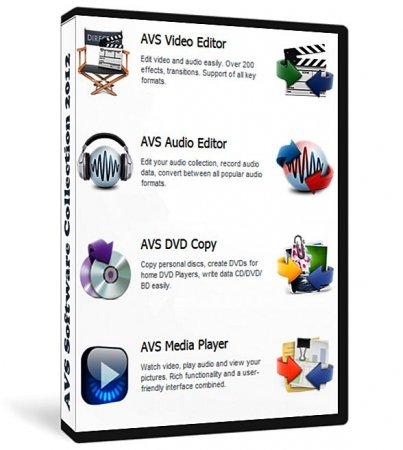 AVS Multimedia Software Collection AIO 04.2013