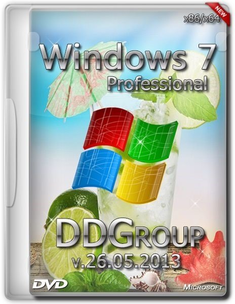 Windows 7 SP1 Professional x86 v.26.05 DDGroup (2013/RUS)
