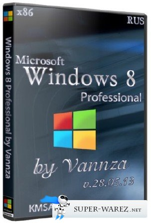 Windows 8 x86 Professional v.28.05.13 by Vannza (RUS)