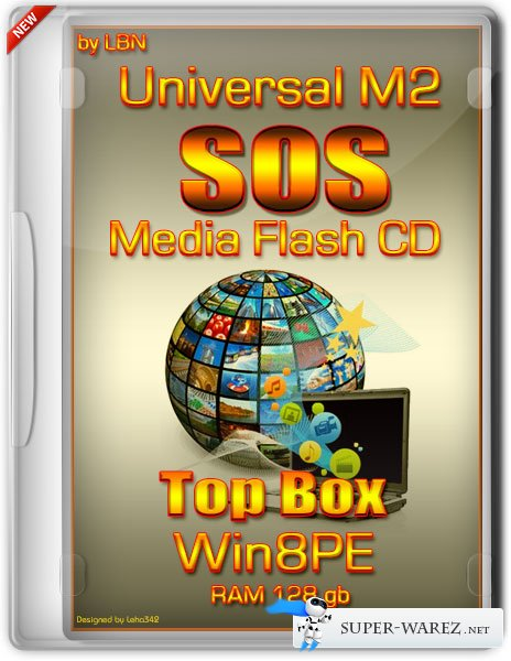 Universal M2 SOS Media Flash CD Top Box Win8pe RAM 128 gb (RUS/2013)