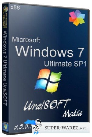 Windows 7 x86 Ultimate UralSOFT Media v.5.5.13 (2013/RUS)