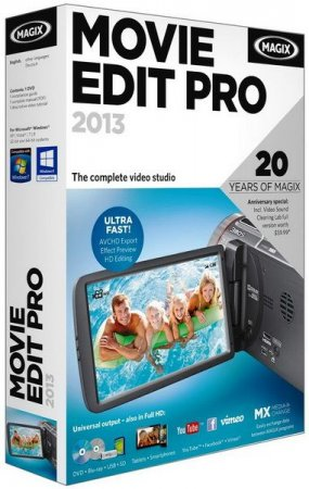 MAGIX Movie Edit Pro 2013 Premium v 12.0.3.4 ML|Rus + Contents