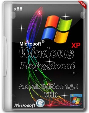 Windows XP Pro SP3 AstraL Edition 1.5.1 VHD x86 by Welic (2013/RUS)