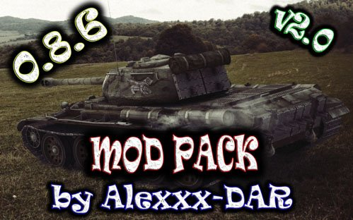 Моды для World of Tanks (под патч 0.8.6) 2013 от Alexxx-DAR