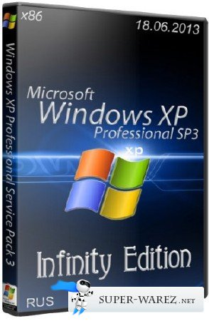 Microsoft Windows XP Professional Service Pack 3 Infinity Edition (x86/18.06.2013/RUS)