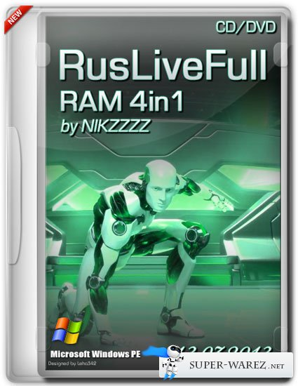RusLiveFull RAM 4in1 by NIKZZZZ CD/DVD (13.07.2013)