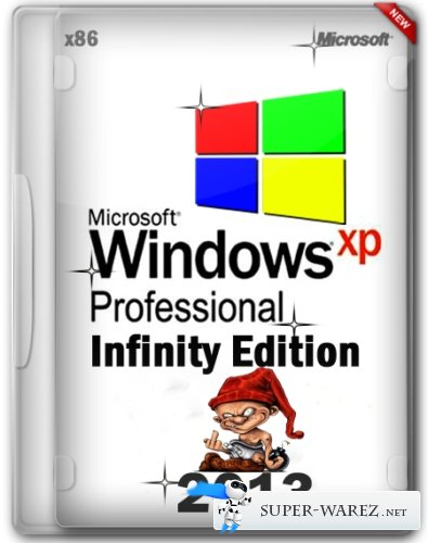 Windows XP Professional Service Pack 3 Infinity Edition (07.2013/RUS)