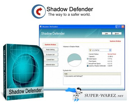 Shadow Defender 1.3.0.454 Final Datecode 08.08.2013 + Rus