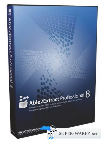Able2Extract Professional 8.0.38.0