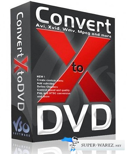 VSO ConvertXtoDVD 5.0.0.74 Final RePack by elchupacabra