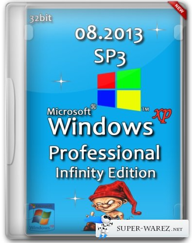 Windows XP Professional Service Pack 3 Infinity Edition (08.2013/RUS)