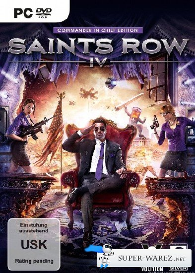 Saints Row IV: Commander in Chief Edition (2013/ENG/MULTi5)