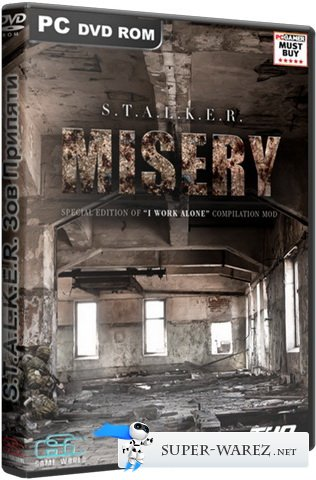 S.T.A.L.K.E.R.: Зов Припяти / S.T.A.L.K.E.R.: Call of Pripyat - MISERY 2 v2.0.2 + Quick Fix (от 26.08.13) (2013/Rus/PC) RePack by kplayer
