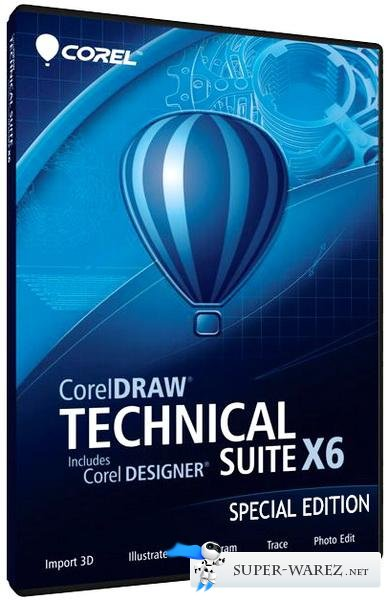 CorelDRAW Technical Suite X6 16.4.0.1280 SP4 Special Edition (2013/ENG/RUS)