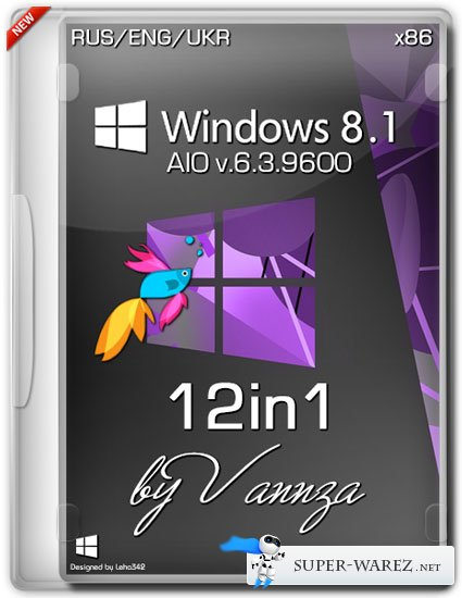 Microsoft Windows 8.1 x86 12in1 by Vannza (RUS/ENG/UKR/2013)