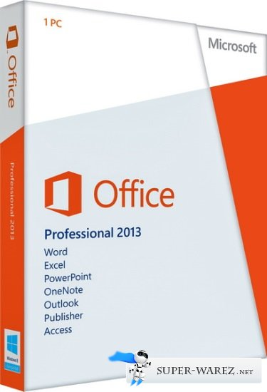 Microsoft Office 2013 Professional Plus + Visio Pro + Project Pro + SharePoint Designer 15.0.4517.1504 (RUS/ENG)