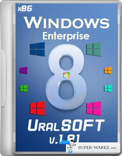 Windows 8 x86 Enterprise UralSOFT v.1.81 (2013/RUS)