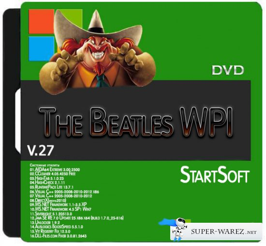 The Beatles WPI DVD StartSoft 27 (x86/x64)