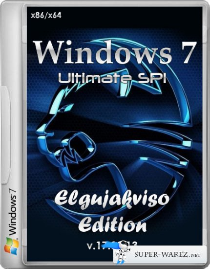 Windows 7 Ultimate SP1 Elgujakviso Edition v.17.09.13 (x86/x64/RUS/2013)