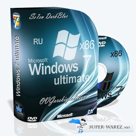 Microsoft Windows 7 Ultimate SP1 7DB by OVGorskiy® 10.2013 (RUS/x86)
