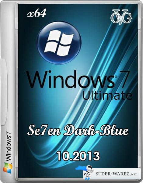 Microsoft Windows 7 Ultimate SP1 7DB by OVGorskiy® 10.2013 (RUS/x64)
