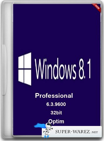 Windows 8.1 Professional x86 Optim (RUS/2013)