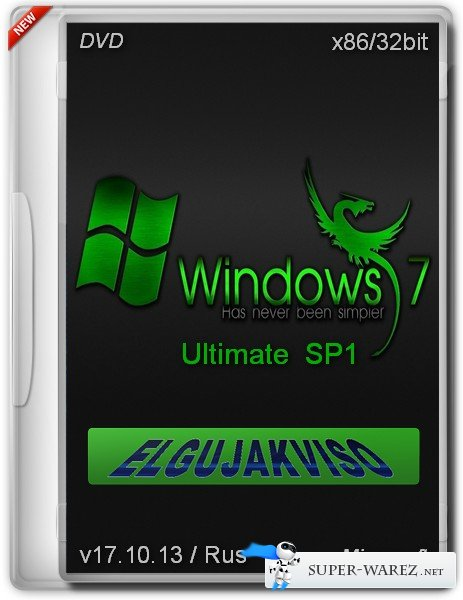 Windows 7 Ultimate SP1 x86 Elgujakviso Edition v.17.10.13 (2013/RUS)