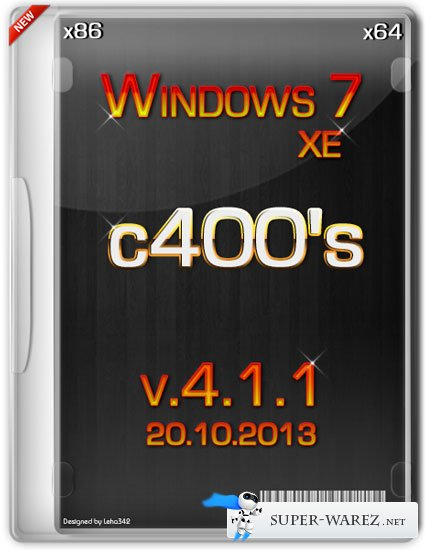c400's Windows 7 XE v.4.1.1 (x86/x64/RUS/ENG/2013)
