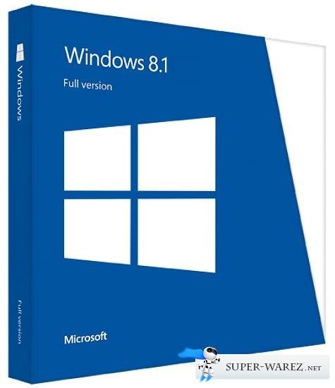 Microsoft Windows 8.1 x64 -16in1 AIO by m0nkrus (RUS/ENG)