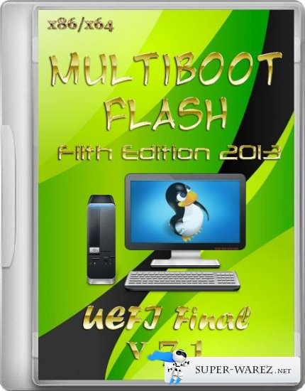 Multiboot Flash Filth Edition 2013 + UEFI 7.1 Final (x86/x64/RUS/ENG)