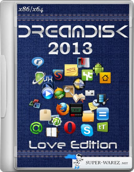 DreamDisk 2013 Love Edition (x86/x64/ML/RUS/2013)