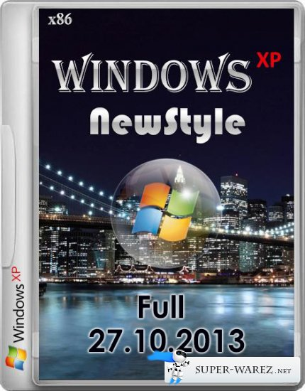 Windows ХР - NewStyleXP-Full 27.10.2013 (x86/RUS)