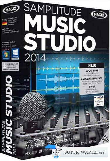 MAGIX Samplitude Music Studio 2014 20.0.0.11 + Rus
