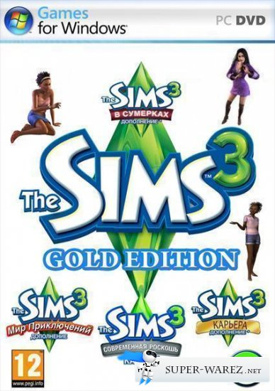 The Sims 3: Gold Edition v.21.0.150 + Store October 2013 (2009-2013/RUS/SIM/Repack by Fenixx)