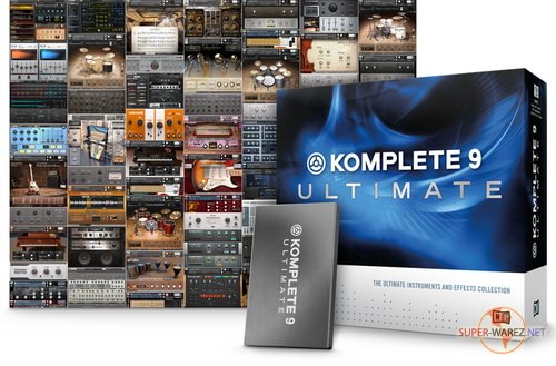 Native Instruments Komplete 9 Ultimate - Win/MacOSX (Full-Pack/2013)