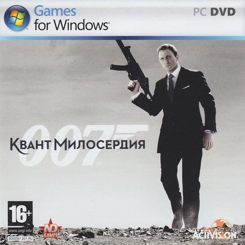007: Квант милосердия / Quantum of Solace: The Game (2008/RUS/RePack by R.G. Catalyst)