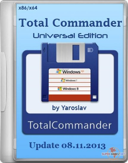 Total Commander Universal Edition Update 08.11.2013 by Yaroslav (ML/RUS/2013)