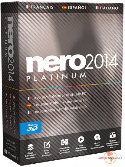 Nero 2014 Platinum 15.0.03500 Full RePack by Vahe-91