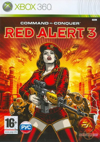 Command & Conquer: Red Alert 3 (2008/PAL/RUSSOUND/XBOX360)
